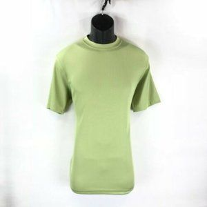 LOG-IN UOMO Men's Mint Green T-shirt Ribbed
